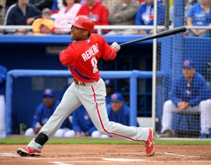 Ben Revere hits single in the first inning.