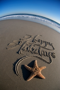 Happy Holidays Beach